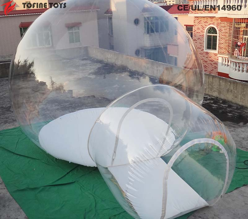 Igloo Inflatable Clear Bubble Room Camping Tent