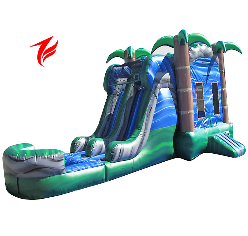 NEW Inflatable Hurricane Bounce House