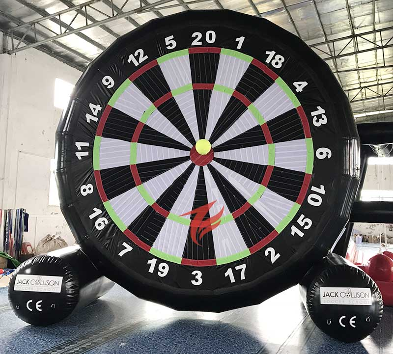 Air Sealed Inflatable Foot Dart Board Soccer Target